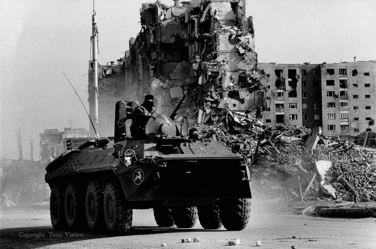 chechnya war conflict photo
