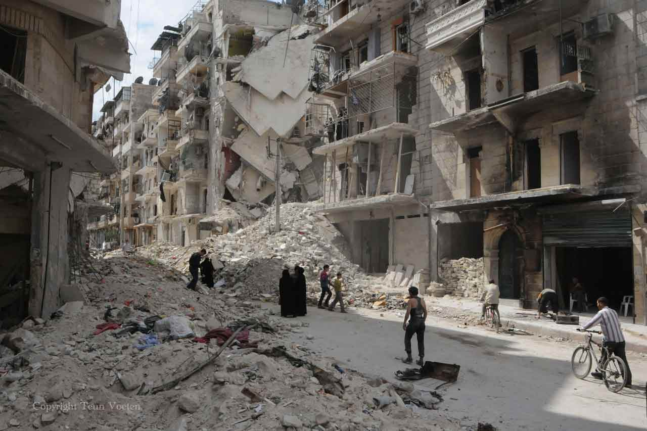syria war conflict photo